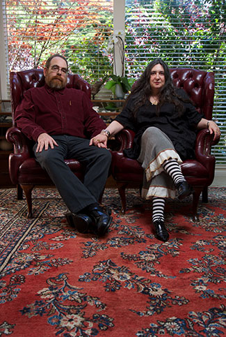 Pipsqueak's Principals are Christopher Werby and Olga Werby, a married couple who work together.