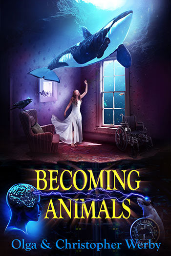 "Book Cover for ""Becoming Animals"""