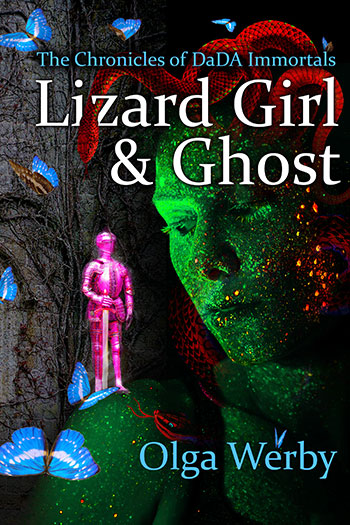 "Book Cover for ""Lizard Girl & Ghost"""