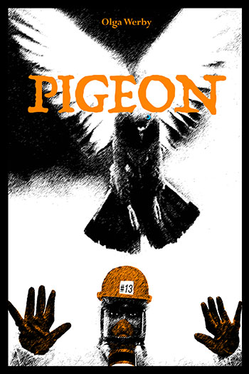 "Book Cover for ""Pigeon"""