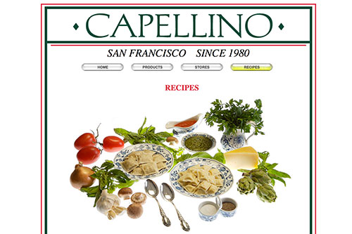 Capellino Sauces — Recipes