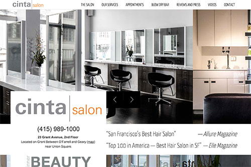 Cinta Salon Home Page (v3)